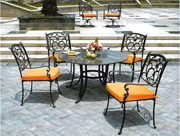 Furniture  Wrought Iron Patio Chair Cushions Cheap Beautiful Wrought Iron Outdoor Furniture Clearance