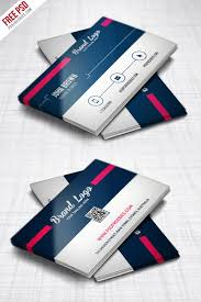 Free Psd Business Card Templates Modern Business Card Design Template Free Psd Modern
