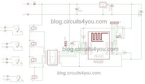iot based home automation project circuits4you com iot based home automation circuit