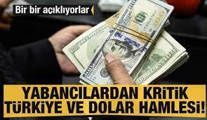 Yabancılardan kritik Türkiye ve dolar hamlesi! Bir bir açıklıyorlar - Ekonomi  Haberleri