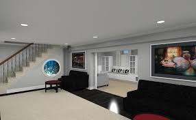 Basement Remodel Designs Awesome Decorating Design