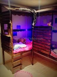 pallet twins beds