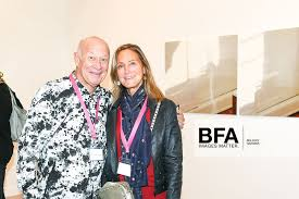 Larry Fields, Marilyn Fields at Frieze Los Angeles: Opening Preview / id :  3323355 by Billy Farrell/BFA.