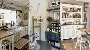 Diy Rustic Farmhouse Style Kitchen Decor Ideas Home Decor Interior Design Flamingo Mango Youtube