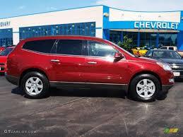 2010 Red Jewel Tintcoat Chevrolet Traverse LT #64924566 | GTCarLot ...