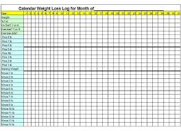 Weight Loss Chart Template Pin On Useful Templates