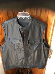 first classic xl leather vest