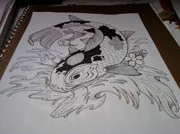 realistic koi fish drawing. Modren Drawing Realistic Koi Fish Drawing Color  Photo6 To Koi Fish Drawing N