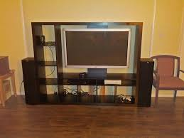 tv storage unit with integrated reinforced television mount ikea for 50 inch tv stand ikea idea 10