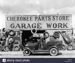 Auto Parts Shop Atlanta Georgia 1936 File Reference 1002