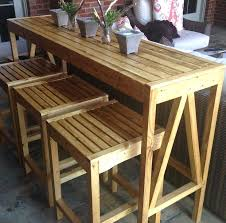 build a bar plans custom outdoor bar stools free and easy project and furniture plans via