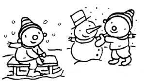 Kleurplaat Puk Winter Winter Winter Winter Knutselen Kleurplaten