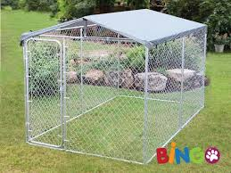 bingo dog kennel 4x2 3x1 83m with roof