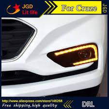 12V 6000k LED DRL <b>дневные ходовые огни</b> для Chevrolet <b>Cruze</b>