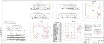 Проект торгового центра скачать Чертежи РУ АР АС Торговый центр 30 х 30 м