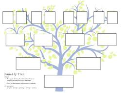 Printed Family Trees Picture Sbutv Info