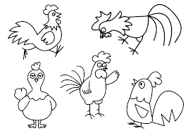 Tuyển tập tranh tô màu con gà đẹp nhất dành cho các bé - Zicxa books
