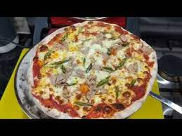 The dough rises a lot, and deep pan or stuffed crust would result in it touching the lid. G3 Ferrari Pizza Oven Youtube