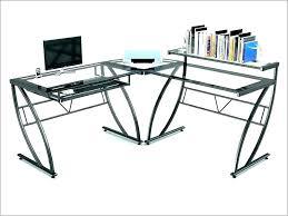large glass desk large glass desk l shaped glass desk l shaped glass puter desk large