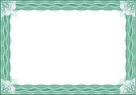 Formal Certificate Borders Templates Feedscast Com