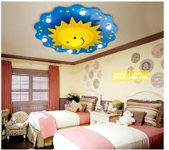 childrens ceiling lighting. Childrens Bedroom Lighting Ceiling Free Shipping Children Lamps Kids Light Cartoon Sun Design . D