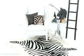 fake zebra rug zebra hide rug printed cowhide traditional living room fake fake zebra skin rug fake zebra rug