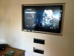 wall box comfy designs tv mount bracket cable