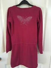 <b>La Redoute</b> Dark Pink Jumper Dress With Butterfly Design on The ...