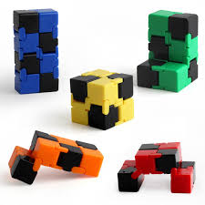 details about infinite cube focus fidget desk toy magic diy stress relief edc fidget toys gift