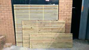 wood trellis panel slatted fence panels privacy security for gardens garden company