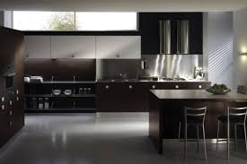contemporary kitchen colors. Modren Colors View In Gallery Modern Kitchen Design Dark Hues And Contemporary Kitchen Colors A
