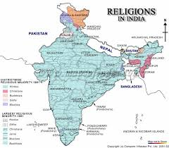 religions in n religions  religion map