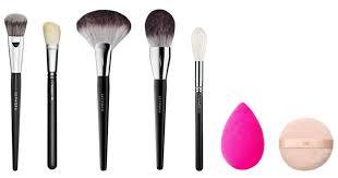 makeup essentials tools