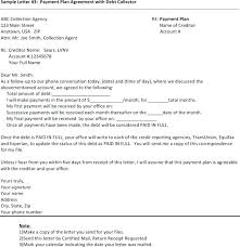 Sample Agreement To Pay Debt Best Proposal Letter Lovely Payment Plan Template Debt