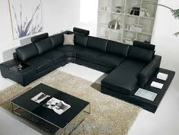 awesome couches. Plain Couches Furniture Awesome Couches Design Bring New Look In Your Home U Shaped  Black Leather Sofa Intended A