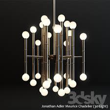 jonathan adler meurice chandelier 30 light