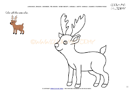 Small Picture coloring page Caribou Color picture of Caribou