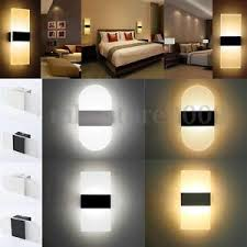 contemporary indoor lighting. Image Is Loading Modern-LED-Wall-Light-Up-Down-Cube-Indoor- Contemporary Indoor Lighting