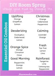 diy room spray using essential oils