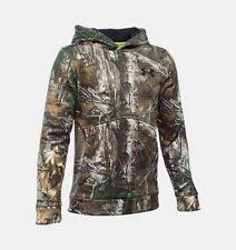 under armour youth hoodie. under armour boys youth ua storm icon realtree \u0026 mossy camo hoodie 1286119 o