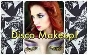 vine 1970 s sparkly disco makeup tutorial by cherry dollface you