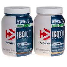 dymatize iso100 natural chocolate and vanilla flavors