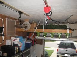 above garage door storage over