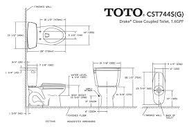 elongated bowl toilet dimensions. toto drake cst744sg dimension elongated bowl toilet dimensions 0