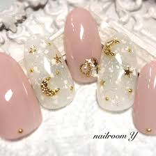 Nailroom Y On Instagram 月と星 ピンク