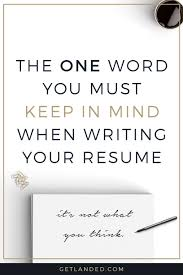 Resume Writing Tips Impressive Newsflash Your Resume Isn't Really All About You Keep This One