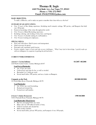 Waitress Resume Skills Waitress Resume Skills Resume For Study