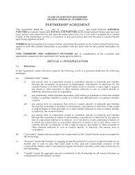 Limited Partnership Agreement Template Alberta Limited Partnership Agreement For Buying Selling