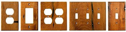 switch plate covers decorative wood plates amazing wooden pertaining to canada three switch plate