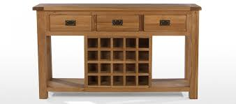 New Console Table with Wine Rack 1 Photos Gratograt